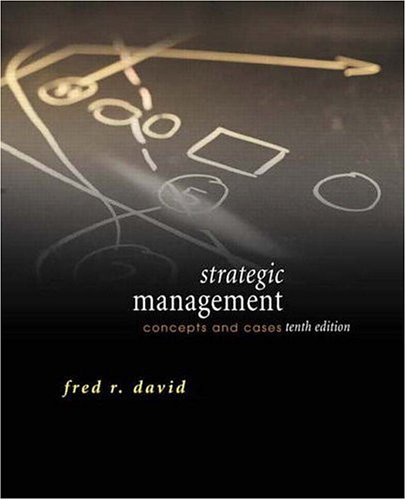 STRATEGIC MANAGEMENT 10ED(战略管理手册)