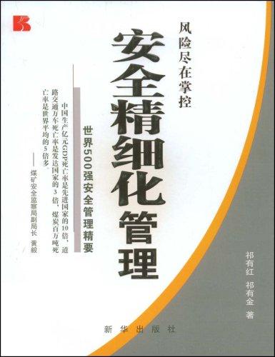 安全精细化管理:世界500强安全管理精要