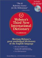 Webster's 3rd New International Dictionary