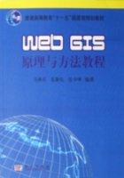 Web GIS原理與方法教程