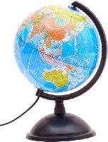 博目地球儀:20cm政區燈光地球儀