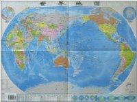 2011中国地图•世界地图(套装共2张图)