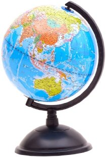 博目地球儀:20cm政區地球儀