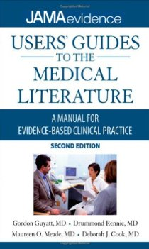 Users' Guide to Medical Literature: A Manual for Evidence-based Clinical Practice (Gordon H. Guyatt)封面图片