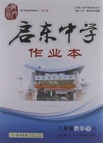 龙门名师系列之初中篇•启东中学作业本:数学(8年级下册)(R)