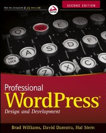 Professional WordPress: Design and Development (Brad Williams)封面圖片