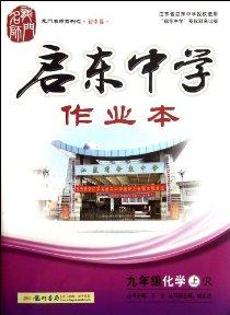2013啟東中學作業本9年級化學上(R)