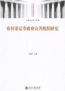 农村基层非政府公共组织研究