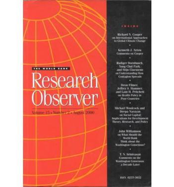 World Bank Research Obs V15 No2 E