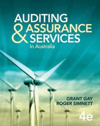 Auditing and Assurance Services: in Australia, 4/e
