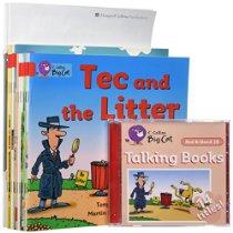 (进口原版)柯林斯大猫经典阅读绘本套装 Big Cat: Red B Starter Set (Age 4-5)
