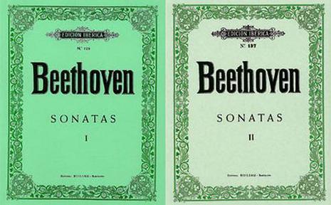EDICIÓN IBÉRICA Nº 128 & 137 - BEETHOVEN - Sonatas Vol. I & II