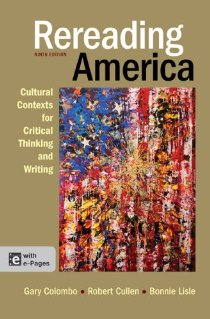 Rereading America With E-Pages: Cultural Contexts for Critical Thinking and Writing