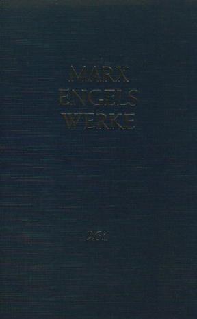 Werke, 43 Bde., Bd.26/1, Theorien über den Mehrwert