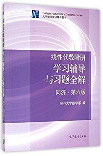大學數學學習輔導叢書:線性代數附冊學習輔導與習題全解(同濟·第六版)