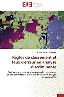 Regles de Classement Et Taux D'Erreur En Analyse Discriminante