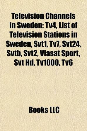 Television Channels in Sweden